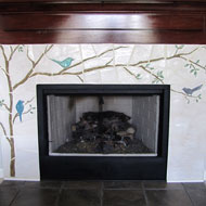 Bird Fireplace